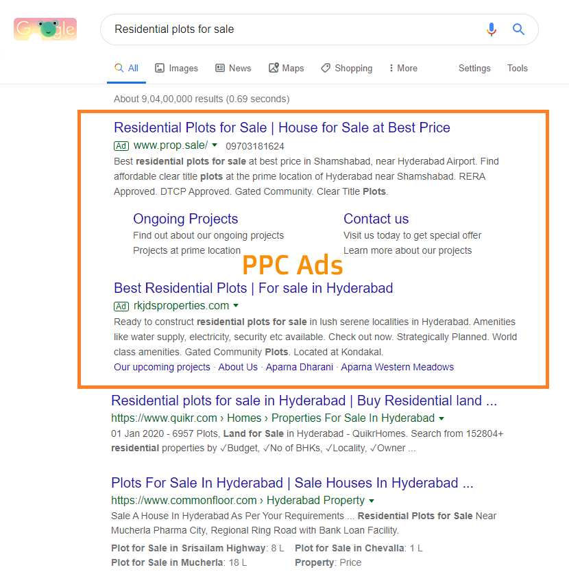 Google Ads text ads - aiseoagency