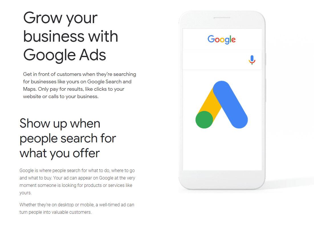 Google Ads benefits info - aiseoagency